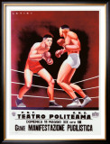 Pugilistica Framed Giclee Print by Latini 