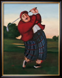 Golf Fore Posters by T. C. Chiu