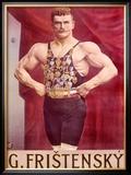Fristensky Strong Man Framed Giclee Print