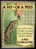 Hit or Miss, 1935 Framed Giclee Print
