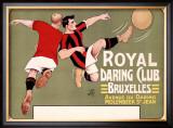 Royal Daring Club, Bruxelles Framed Giclee Print by  T'Sas