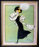 Skating, 1930 Framed Giclee Print