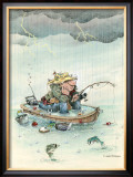 Determination Framed Giclee Print by Gary Patterson