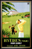 Hyeres, French Riviera Framed Giclee Print by  Deje