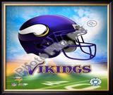 2009 Minnesota Vikings Framed Photographic Print