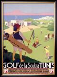 Golf de la Soukra, Tunis Framed Giclee Print by Roger Broders