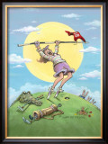 Hole In One Framed Giclee Print by Gary Patterson