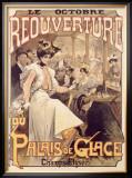 Palais de Glace, Reoverture Framed Giclee Print by  Loir