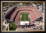 Mile High Stadium - Denver, Colorado Print by Mike Smith