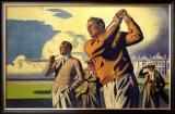 St. Andrews, LNER Poster, 1933 Framed Giclee Print by Arthur C Michael