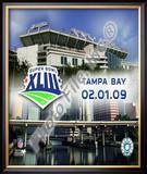 Raymond James Stadium SuperBowl XLIII 2009 Framed Photographic Print