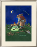 Golf Fanatic Framed Giclee Print by Gary Patterson