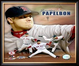 Jonathan Papelbon Framed Photographic Print