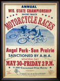 Angel Park-Sun Prairie Framed Giclee Print