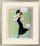 Skating, 1930 Framed Giclee Print