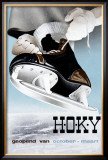 Hoky Ice Skating Shoe Mart Framed Giclee Print