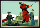 Cruden Bay Framed Giclee Print by Frank Newbould