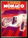 Monaco, 1930 Framed Giclee Print