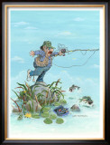 Backlash Framed Giclee Print by Gary Patterson