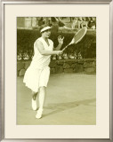 Womens Championship Tennis Framed Giclee Print