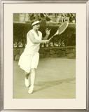 Womens Championship Tennis Framed Giclee Print