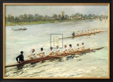 Eights Racing at Putney Prints by F Gueldry