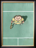 The Lob Framed Giclee Print by Gary Patterson