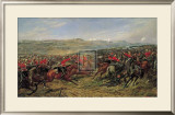 The Charge of the Heavy Brigade Print by D. Giles