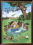 The Gallery Framed Giclee Print by Gary Patterson