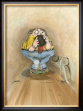 Split Happens Framed Giclee Print by Gary Patterson