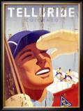 Telluride, Colorado Framed Giclee Print