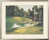 The 9th Tee Art by Ted Goerschner