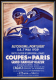 Coupes de Paris Framed Giclee Print by Geo Ham