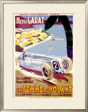 Une Femme au Volant Framed Giclee Print by  Cachetto