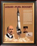 The Liquid Fuel Rocket Print