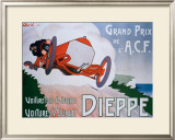 Grand Prix de l'ACF Framed Giclee Print by Bric