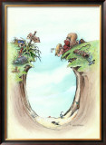 The Sand Trap Framed Giclee Print by Gary Patterson