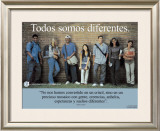 Todos Somos Diferentes- We're All Different Posters