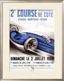 Course Internationale de Cote Framed Giclee Print
