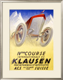 Klausen Framed Giclee Print by Karl Bickel