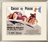 Circuit du Perche Framed Giclee Print by Joe Bridge