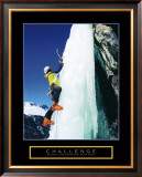 Challenge: Ice Climber Posters