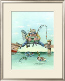 Missing the Boat Framed Giclee Print by Gary Patterson