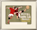 Royal Daring Club, Bruxelles Framed Giclee Print by T'Sas