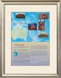 The Continents - Australia Prints