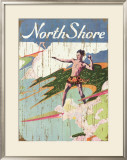 North Shore Framed Giclee Print