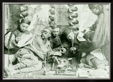 Canton China Opium Den Framed Giclee Print