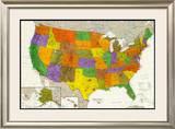 U.S. Map Photo