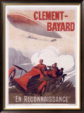 Clement Bayard Framed Giclee Print by Ernest Montaut