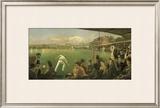 Imaginary Cricket Match, England versus Australia, 1886 Limited Edition Framed Print by Sir Robert Staples